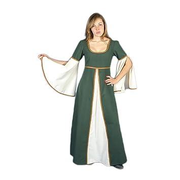 Traje medieval mujer Munia: Amazon.es: Ropa y accesorios