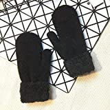 Wall of Dragon Womens Winter Gloves Without Fingers Knitting Wool Warm Mittens Fingerless Elastic Gloves DIY Glove Candy Color