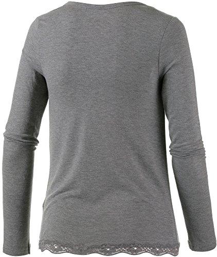 Jockey - Camiseta de manga larga - para mujer tin melange