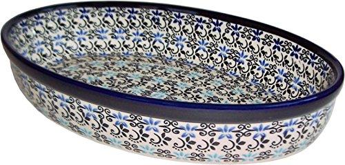 Polish Pottery Oval Baker -
