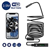 Snake Camera Wifi,Gruper Wireless Endoscope Inspection Camera 2.0 Megapixels HD Wifi Borescope Camera for Android and iPhone, IOS Smartphone,Tablet,Ipad