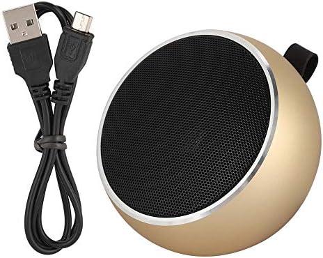 ASHATA Bluetooth-Lautsprecher, X9 Mini-Lautsprecher Tragbarer Bluetooth-Lautsprecher für den Außenbereich, Tragbarer Mini-Lautsprecher für die Unterstützung der TF-Kartenwiedergabe