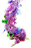 #3: Easter Bunny Party Tinsel Garland,Bright Colors,9 ft. (Easter Bunny Tinsel Garland)