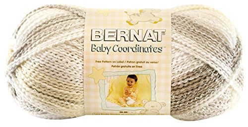 Sport Ombre Yarn (Bernat Baby Coordinates Ombre Yarn - (3) Light Gauge  - 4.25 oz -   Tae  -  Machine Wash & Dry)