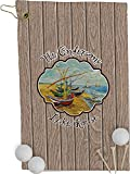 RNK Shops Lake House Golf Towel - Full Print (Personalized)