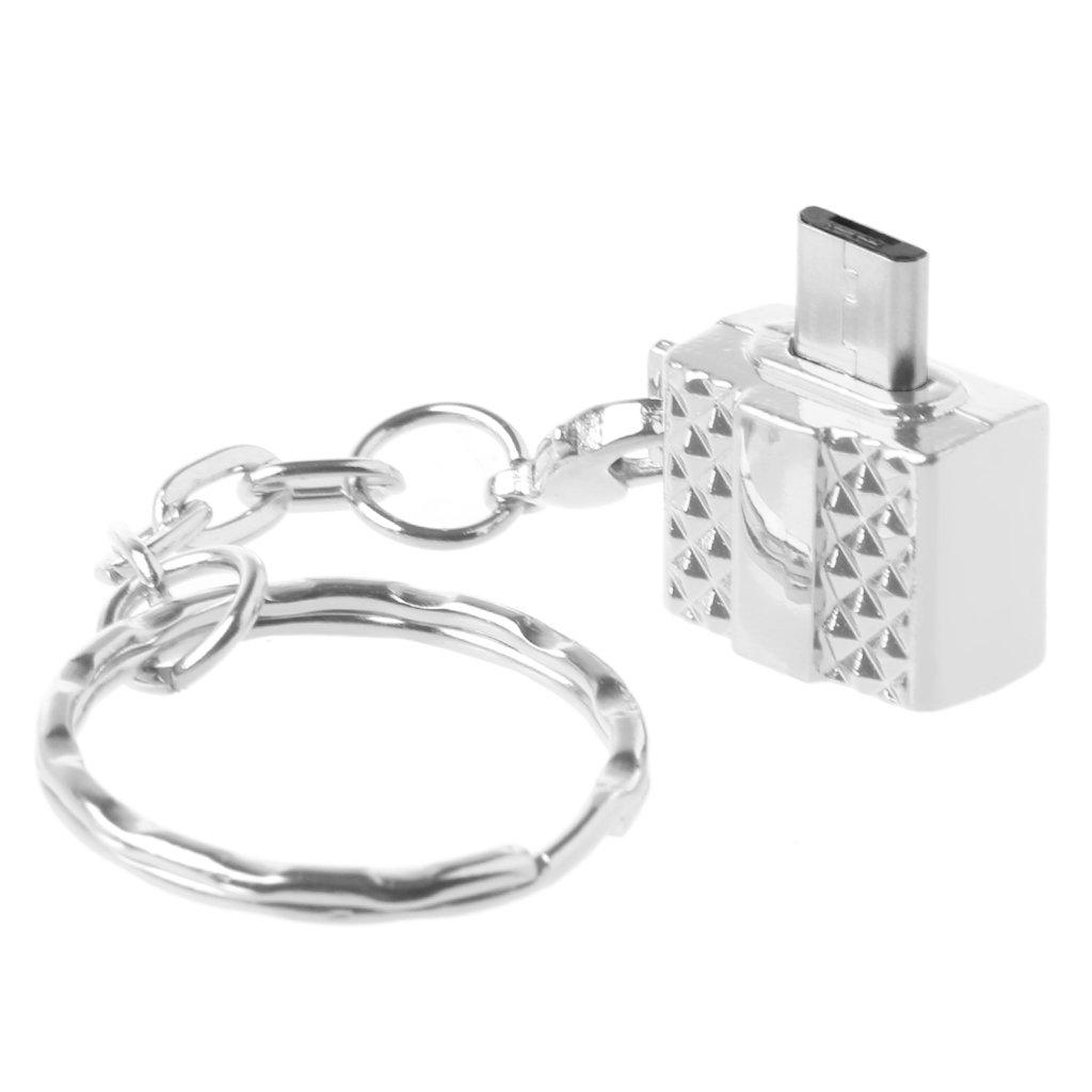 BULAGE Micro USB B Macho a USB 2.0 Tipo A Adaptador ...