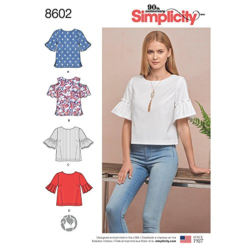 Simplicity Creative Patterns Vest/Coats Pattern Misses' Tops in Two Lengths