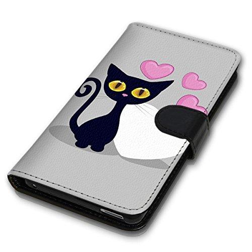 Wallet Book Style Flip Handy Tasche Case Schutz Hülle Schale Motiv Etui für Apple iPhone 5 / 5S - Design Flip MVD61
