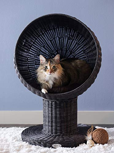 (The Refined Feline's Kitty Ball Cat Bed (Renewed))
