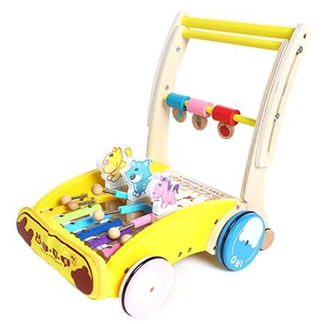 TWW Andador para bebés, Almacenamiento Plegable de Seguridad ...