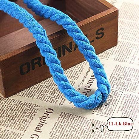 FINCOS - Cordones de algodón trenzados de 12 mm para manualidades ...