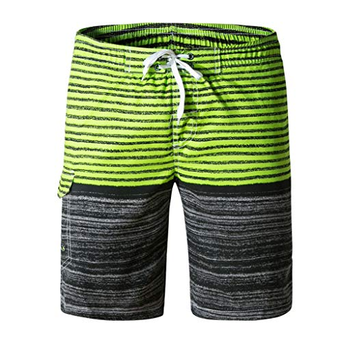 Men's PatchWorking Shorts,LuluZanm Sales ! Summer Print Trunks Quick Dry Beach Short Pants Surfing Running Trousers - City Suit Trousers