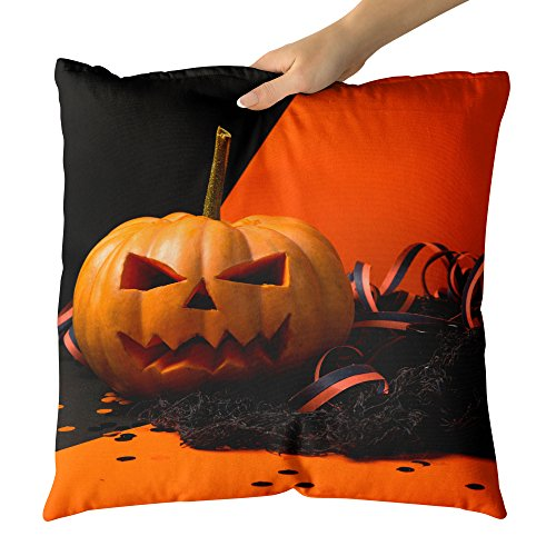 Westlake Art - Halloween Calabaza - Decorative Throw Pillow Cushion - Picture Photography Artwork Home Decor Living Room - 20x20 Inch for $<!--$32.95-->