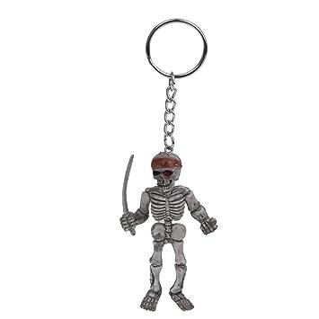 Desconocido Llavero Anillo Colgante de Esqueleto Soldado con ...