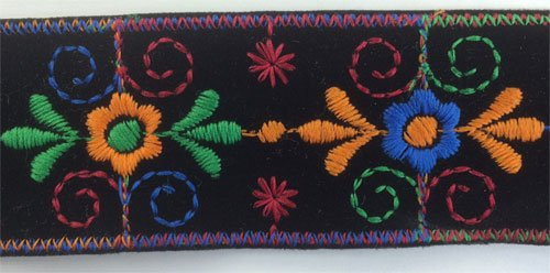 Embroidered Insert - 1-1/2