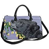 Vegan Leather Handbag with Removable Shoulder Strap - Support Wildlife Conservation, Read How …