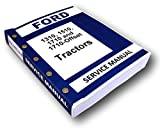 Ford 1310 1510 1710 Tractor Service Repair Shop Manual Technical Overhaul Book