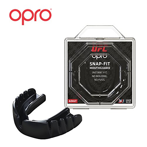 OPRO UFC Adult Mouthguard for MMA, Boxing, BJJ, and Other Combat Sports – 18 Month Dental Warranty – DiZiSports Store