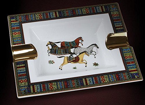 HAJYB European ceramic cigar ashtray/retro/grade air/living room furniture/Astray decorations/ornaments AIDEXIAOWU