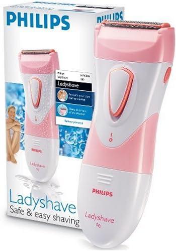 Philips HP6306 Seco o húmedo Ladyshave, AA, Rosa, Blanco, 12 ...