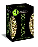 Wonderful Pistachios, Multipack Box of 9 Roasted and Salted 1.5oz Bags Review