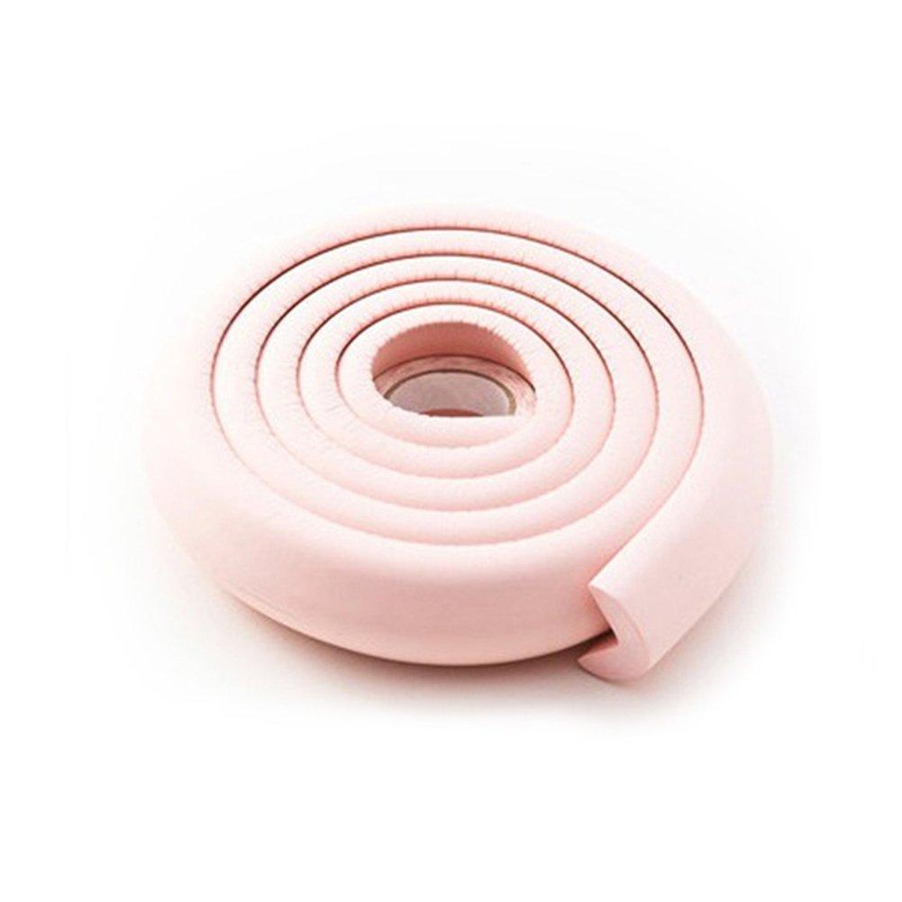 2 m//6.56 Ft protezione bordi in schiuma tavolo angolo ammorbidente protezione prova di sicurezza morbido cuscino strisce atossico ecologico per la sicurezza dei bambini
