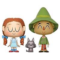 Funko Vynl: El mago de Oz - Dorothy & Scarecrow 2Pk Collectible Figure Pack de 2 unidades