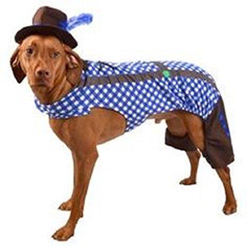 Hyde & Eek Pet Dog Oktoberfest Costume & Hat (XS (8 inches))