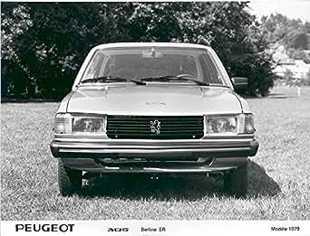 Amazon.com: 1979 Peugeot 305 Berline SR Factory Photo