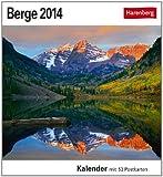 Berge 2014: Sehnsuchts-Kalender. 53 heraustrennbare Farbpostkarten