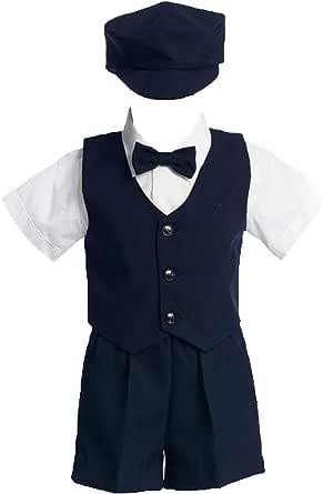 Amazon.com: Lito traje de chaleco, pantalones cortos ...