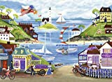 Ravensburger Lovely Seaside 500 Piece Jigsaw Puzzle for Adults – Every Piece is Unique, Softclick Technology Means Pieces Fit Together Perfectly