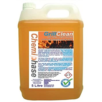 Horno, Grill limpiador y desengrasante - 5 litros: Amazon.es ...