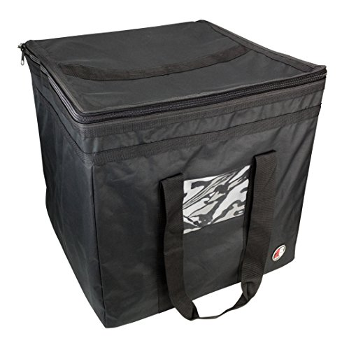 2B Travel Gear Balikbayan Box Bag (Travel Cover) , Corrugated Boxes | Easy-Access Top for Customs, Clear Address Pocket, TSA Approved Lockable Zippers (Black)