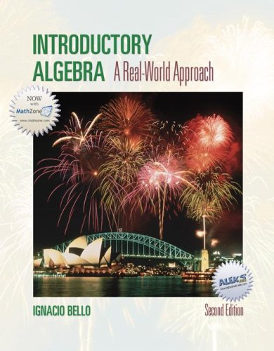 Introductory Algebra: A Real World Approach