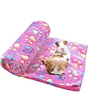Spring Fever Hamster Guinea Pig Rabbit Dog Cat Chinchilla Hedgehog Small Animal Soft Warm Pet Fleece Blanket Cover Mat Hideout Cage Accessorie Rose Red M