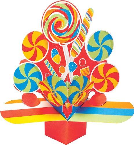 [Creative Converting Sugar Buzz Dimensional Pop-Out Style Candy Centerpiece] (Gumdrop Costume Ideas)
