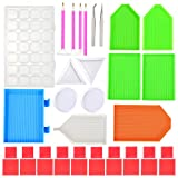 Best Glue Set With Cases - 38 Pieces Diamond Painting Tools Embroidery Cross Stitch Review