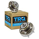TRQ Front Wheel Hub & Bearing Pair for Challenger Charger Magnum 300C RWD 2WD