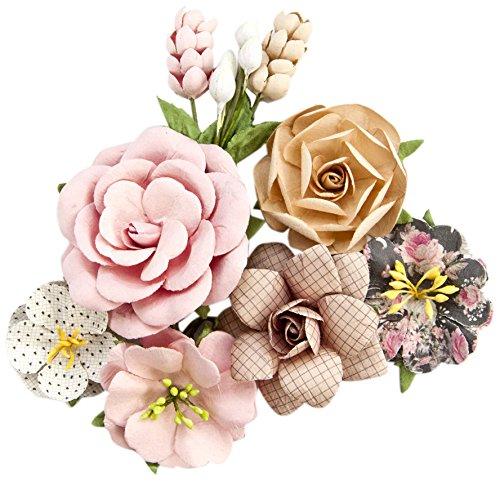 Prima Marketing Floral Embellishments - Prima Marketing Amelia Rose Flowers - Love Letters