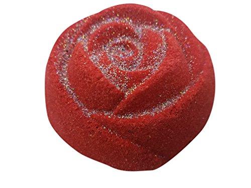 I Love You Gift Bath Bomb By The Bath Bomb Co. - Large 7.5 ounces - Anti-Aging - Epsom Salts - Coconut Oil - Kaolin Clay - Skin Moisturizers - Aromatherapy Bath - Add to Bubble Bath (I Love You)