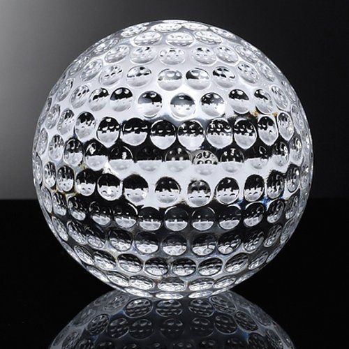 Amlong Crystal Golf Balls Paperweight 3.5