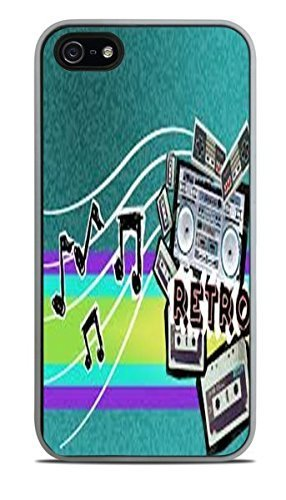 Amazoncom Abstract Retro Music Wallpaper White Silicone