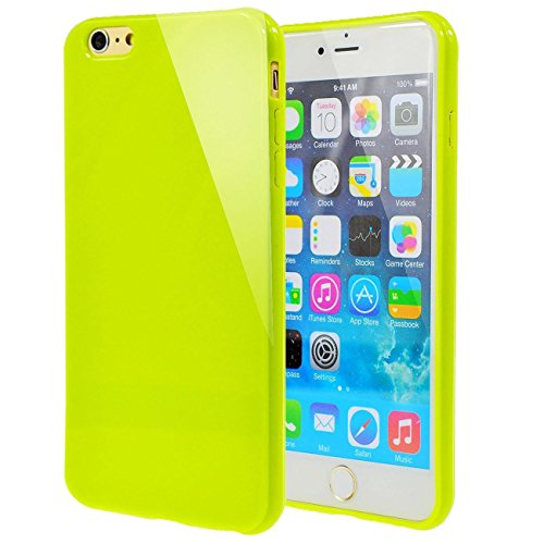 jelly iphone 6 green - 6