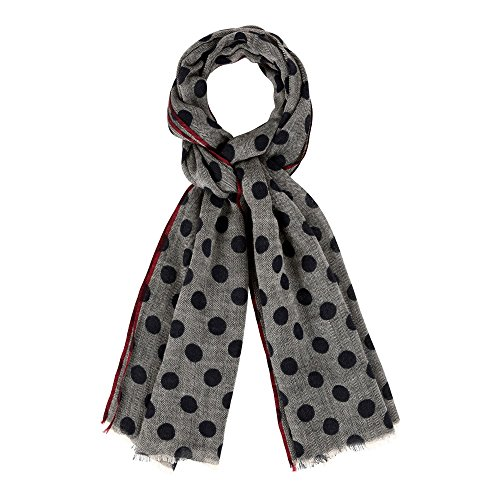 Unisex Scarf Wool- Gray...
