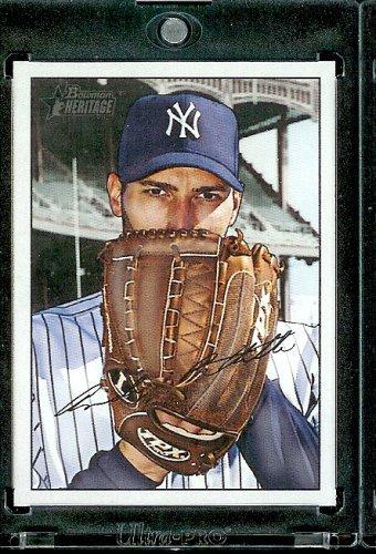 2007 Bowman Heritage # 68 Andy Pettitte - New York Yankees - Baseball Card 2007 Bowman Heritage Card
