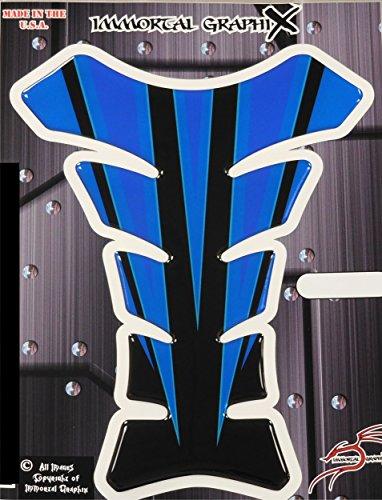 black and blue honda cbr stickers - 8