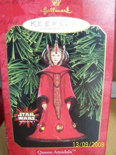 Hallmark Queen Amidala Star Wars Episode 1 1999 Keepsake Ornament QXI4187