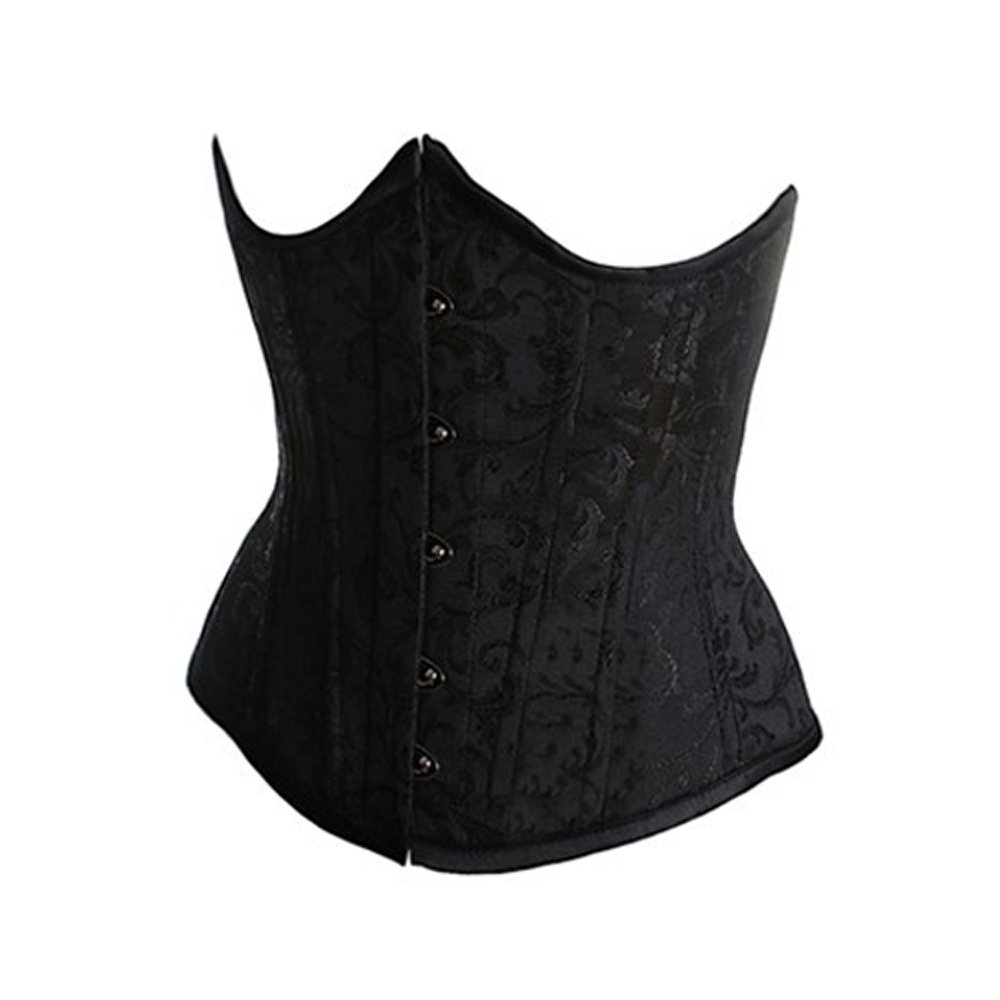 0aa32458127 Amazon.com  Muka Women s Boned Plus Size Overbust Underbust Corset Bustier  Waist Cincher  Clothing
