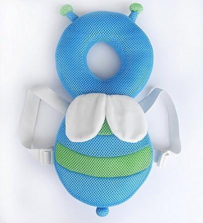 Demarkt Baby Kopfschutz Kleinkind Kopfst/ütze Kissen Kopf Unterst/ützung Fallschutz Sicherheitskissen Schutzpolster f/ür Baby Wanderer Blau